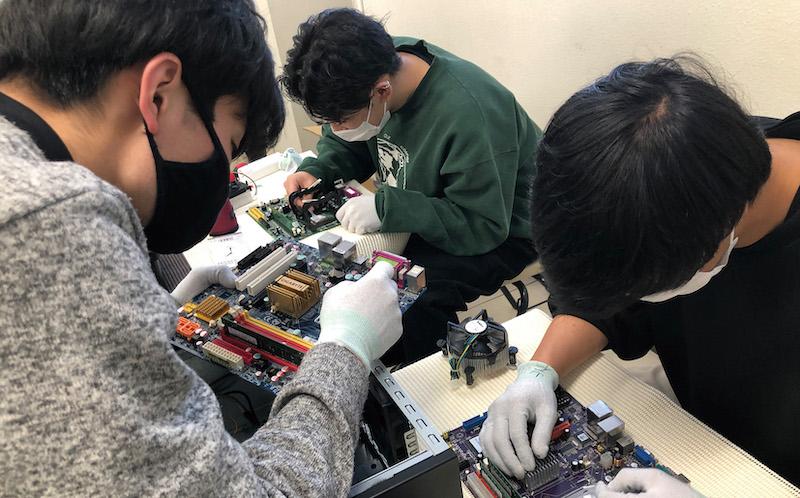 第1コンピュータ室イメージ