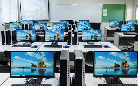 第4コンピュータ室のイメージ