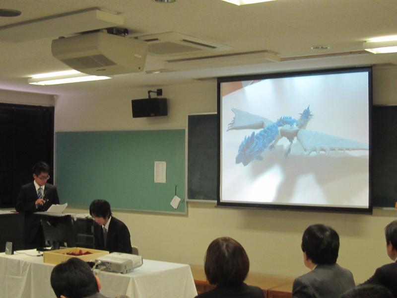 3Dプリンタを使用したモンスターハンターのジオラマを発表