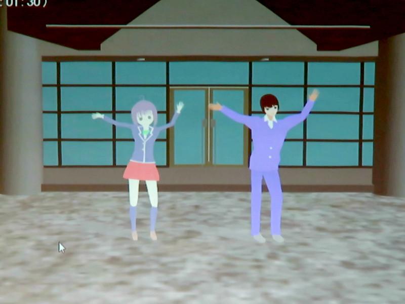 MMDによる3Dアニメーション